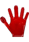Finger Fuck Glove Red